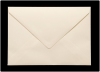 133x184mm Ivory Envelopes (100gsm)