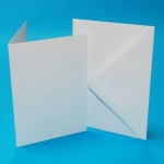 5x7 White Card and Envelopes (Pack of 10)