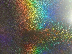 5 x A4 Spotted Holographic  Mirror Card
