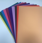 100 x A4 Rainbow Colours Mixed 235gsm Card Pack