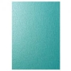 5 Sheets A4 1 sided Sided Teal Pearlescent Card