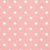 10 Sheets Pale Pink Polka Dot Card A4