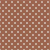 10 Sheets A4 Polka Dot Chocolate Brown  Card 300gsm