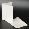 5x7 Scalloped White Cards & Envelopes (Pack of 10)