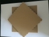 6 x 6 Scalloped  Kraft Card and Envelopes x 10