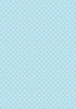 10 Sheets Blue Medium Polka Dot A4 Card 250gsm