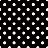 10 Sheets Black Polka Dot A4 Card