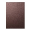 5 Sheets Of 1 Sided Chocolate A4 Pearlescent Card 250gsm