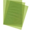 10 Sheets Pea Green Vellum 100gsm
