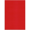 5 Sheets Of 1 Sided Red A4 Pearl Card 250gsm