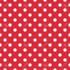 10 Sheets Red Polka Dot  A4 Card 250gsm