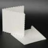 5x5 Scalloped White Cards & Envelopes (Pack of 10)