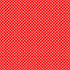 10 Sheets Small Spot Red Polka Dot Card 225gsm