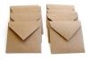 Brown Kraft Envelopes 155mm x 155mm diamond flap x 50