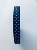 Navy Blue 10mm x 12m Spotted Ribbon